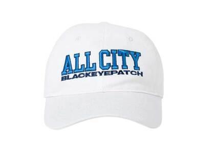 The Black Eye Patch All City Cap White (FW21)の写真