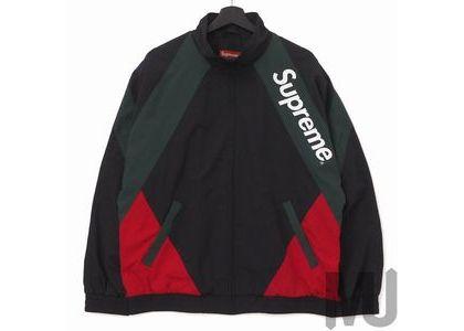Supreme Paneled Track Jacket Blackの写真