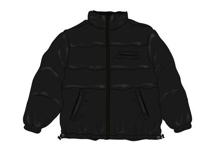 Supreme Shiny Reversible Puffy Jacket Blackの写真