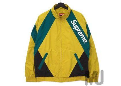 Supreme Paneled Track Jacket Light Goldの写真