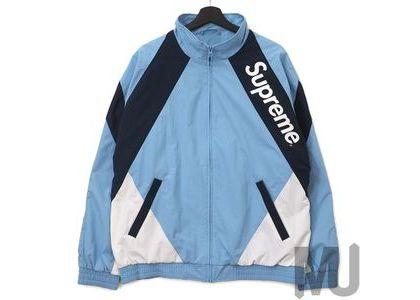 Supreme Paneled Track Jacket Light Blueの写真