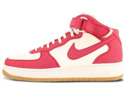 Nike Air Force 1 Mid Red Denimの写真