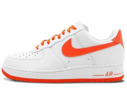 Nike Air Force 1 Low White Total Orange (2012)の写真