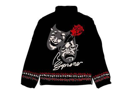 Supreme Drama Mask Fleece Jacket Blackの写真