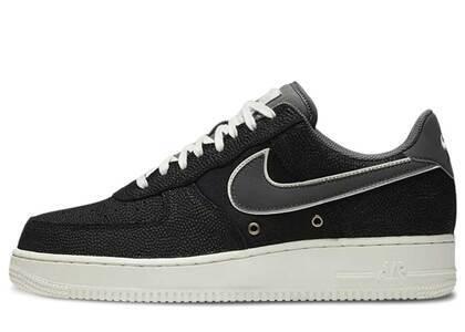 Nike Air Force 1 Low Crocodile Leather Blackの写真