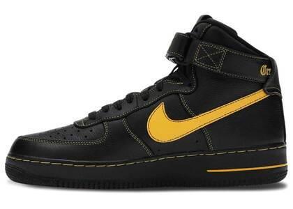 Nike Air Force 1 High Vlone Black University Goldの写真