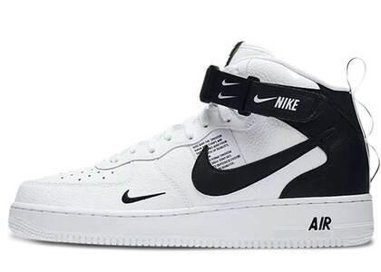 Nike Air Force 1 Mid Utility White Blackの写真