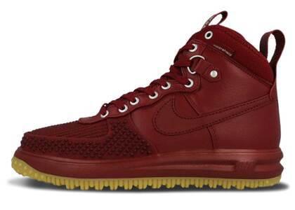 Nike Lunar Force 1 Duckboot Team Red Gumの写真