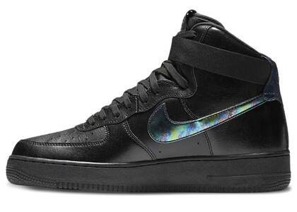 Nike Air Force 1 High Black Iridescentの写真