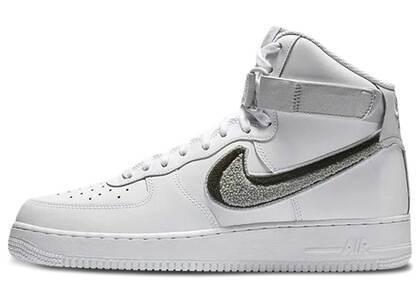 Nike Air Force 1 High 3D Chenille White Grey Blackの写真
