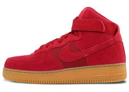 Nike Air Force 1 High Red Gumの写真