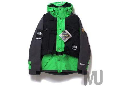 Supreme The North Face RTG Jacket + Vest Bright Greenの写真