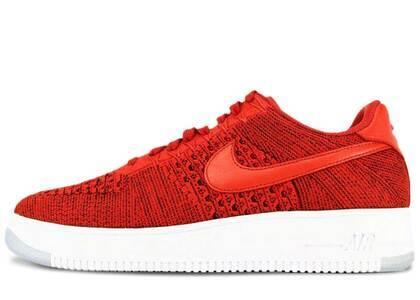 Nike Air Force 1 Ultra Flyknit Low University Redの写真