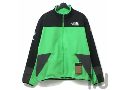 Supreme The North Face RTG Fleece Jacket Bright Greenの写真