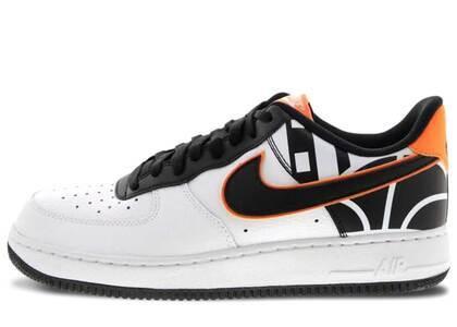 Nike Air Force 1 Low White Black Orangeの写真