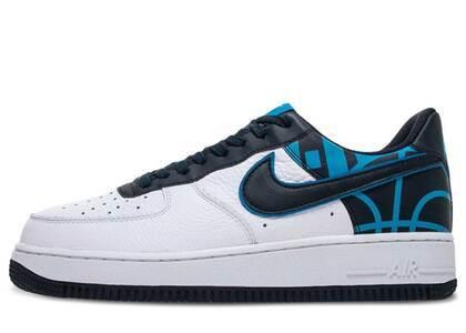 Nike Air Force 1 Low Logo Pack White Obsidianの写真