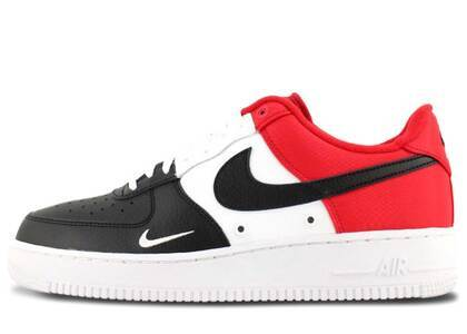 Nike Air Force 1 Low Black Toe (Mini Swoosh)の写真