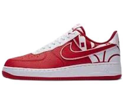 Nike Air Force 1 Low Logo Pack University Redの写真