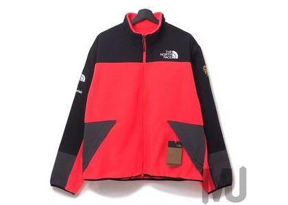 Supreme The North Face RTG Fleece Jacket Bright Redの写真