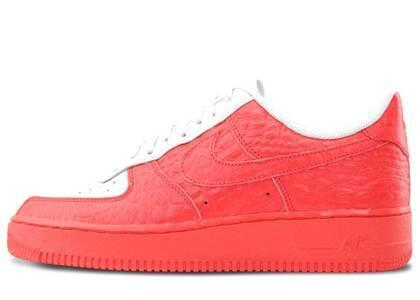 Nike Air Force 1 Low Split Grey Redの写真
