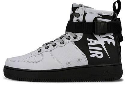 Nike SF Air Force 1 Mid Wolf Grey Blackの写真