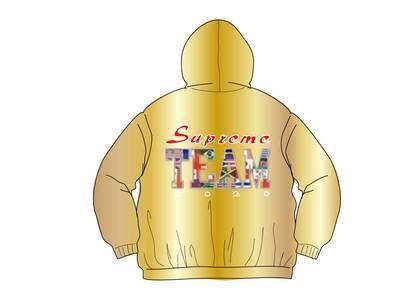 Supreme Supreme Team Puffy Jacket Goldの写真