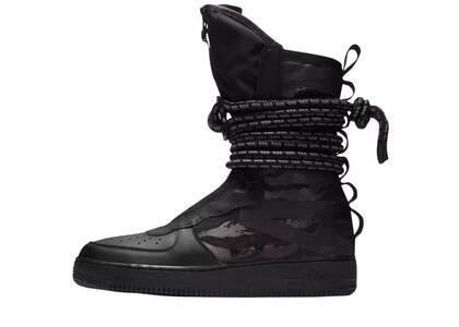 Nike SF Air Force 1 High Black Dark Greyの写真