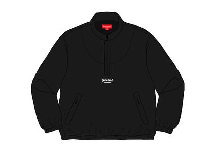 Supreme Track Half Zip Pullover (SS20) Blackの写真