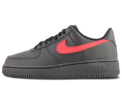 Nike Air Force 1 Low Black University Redの写真