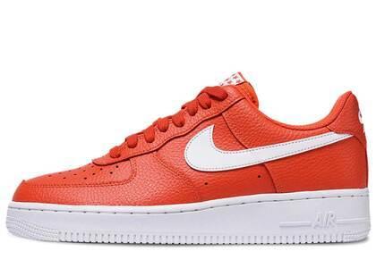 Nike Air Force 1 Low Team Orange Whiteの写真