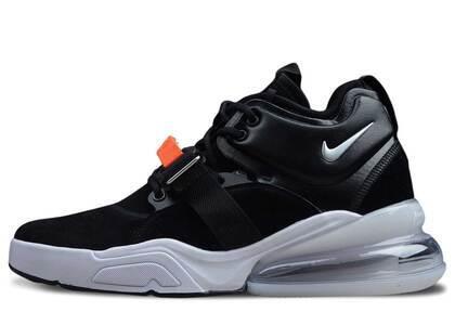 Nike Air Force 270 Black Whiteの写真
