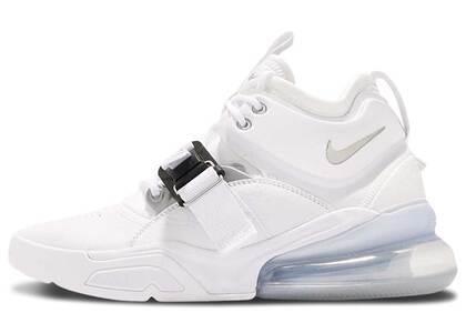 Nike Air Force 270 White Metallic Silverの写真