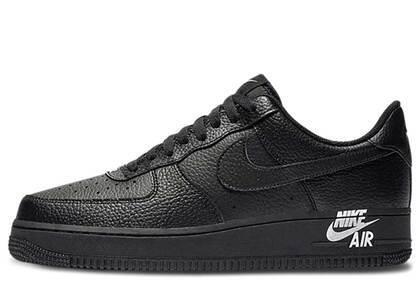 Nike Air Force 1 Low Black Black Whiteの写真