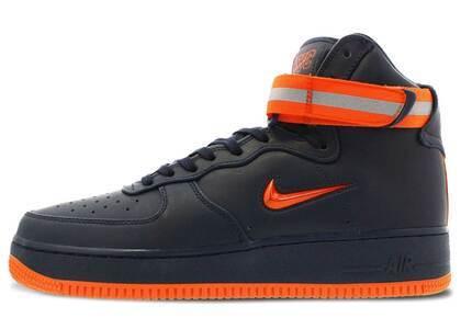 Nike Air Force 1 High NYC Obsidian Orangeの写真