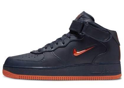 Nike Air Force 1 Mid NYC Obsidian Orangeの写真