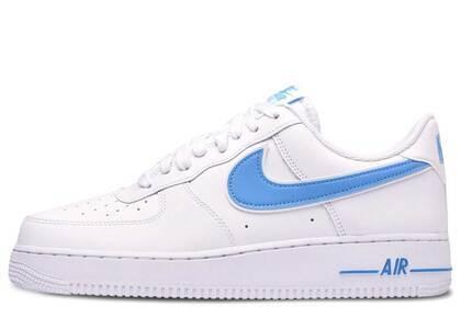 Nike Air Force 1 Low White University Blueの写真