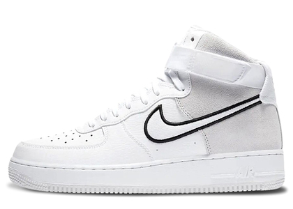 Nike Air Force 1 High White Vast Grey Blackの写真