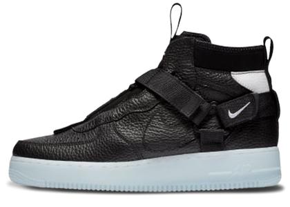Nike Air Force 1 Mid Utility Black Half Blueの写真