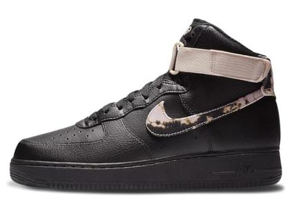 Nike Air Force 1 High Acid Wash Pack Blackの写真