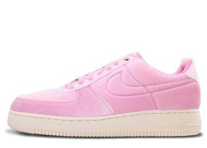 Nike Air Force 1 Low Premium 3 Velour Pink Riseの写真