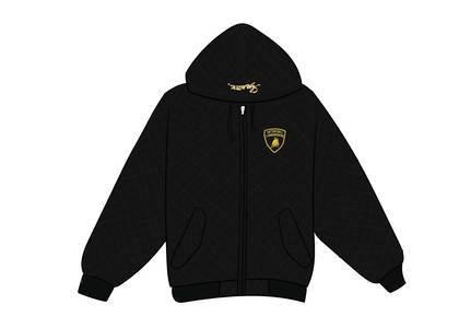 Supreme Automobili Lamborghini Hooded Work Jacket Blackの写真