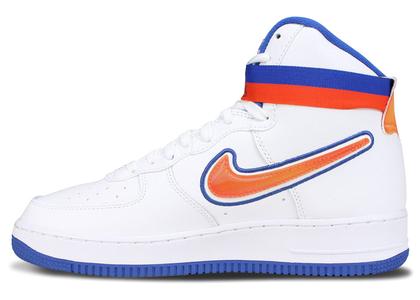 Nike Air Force 1 High Sport NBA White Team Orange Game Royalの写真