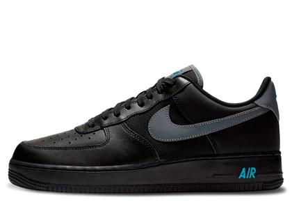 Nike Air Force 1 Low Black Blue Fury Cool Greyの写真