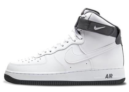 Nike Air Force 1 High White Dark Greyの写真