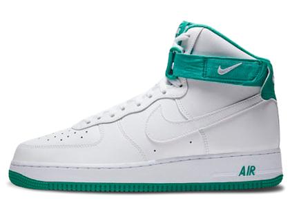 Nike Air Force 1 High White Neptune Greenの写真