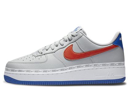 Nike Air Force 1 Low Overbranding Grey Blue Redの写真
