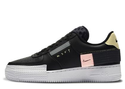 Nike Air Force 1 Type Blackの写真