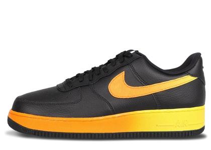 Nike Air Force 1 Low Black Yellow Orangeの写真