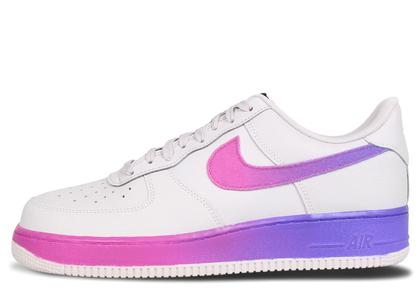 Nike Air Force 1 Low Gradient Vast Grey Hyper Grapeの写真