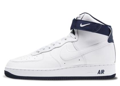 Nike Air Force 1 High 07 2 White Mystic Navyの写真